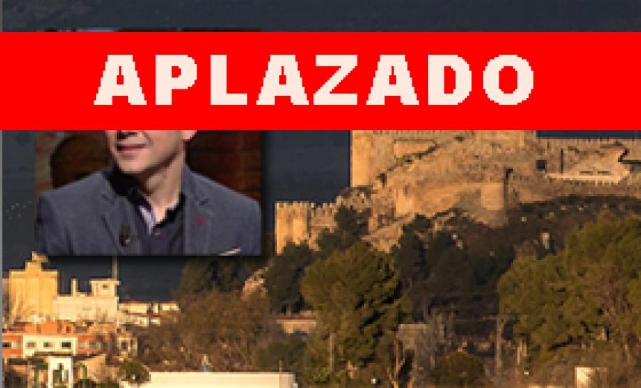 (APLAZADO) XI ENCUENTROS LITERARIOS: Alberto Cerezuela
